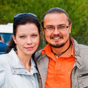 Руководители студии Color Music Елена и Александр Петриковы